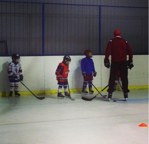 Индивидуальные и групповые занятия на льду