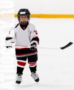 Обучение детей катанию на коньках, школа хоккея AtHockey.ru