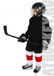 Особенности обучения детей катанию на коньках, хоккейная школа AtHockey.ru