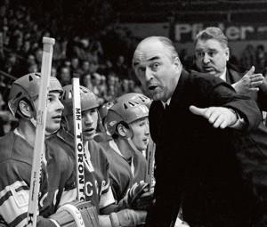 Аркадий Иванович Чернышев, тренер по хоккею