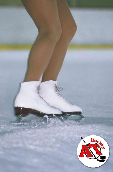 Как тормозить на фигурных коньках?