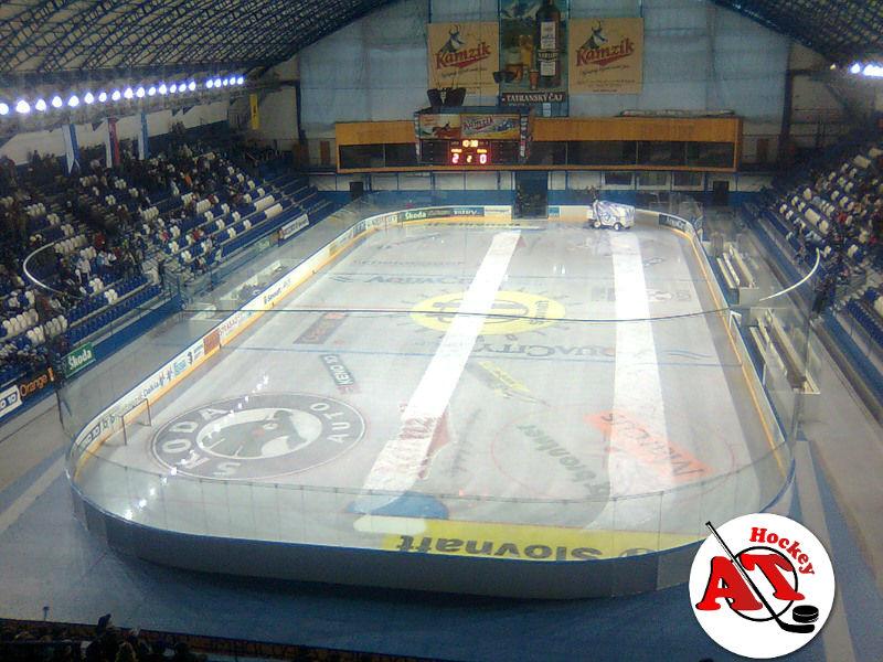 Разметка и размеры площадки в хоккее