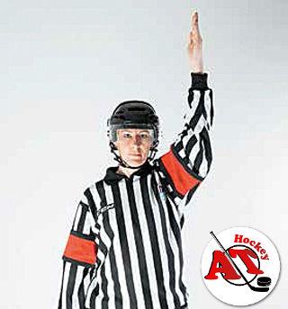Правила в хоккее: проброс шайбы
