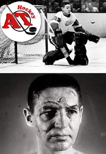 Вратарь в хоккее, который играл без шлема и маски