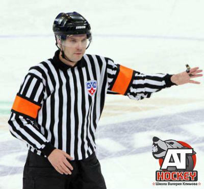 Жесты судей в хоккее