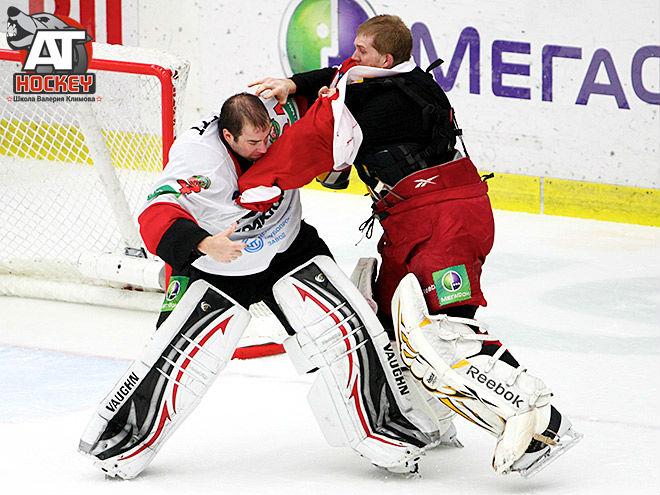 Массовые драки в хоккее