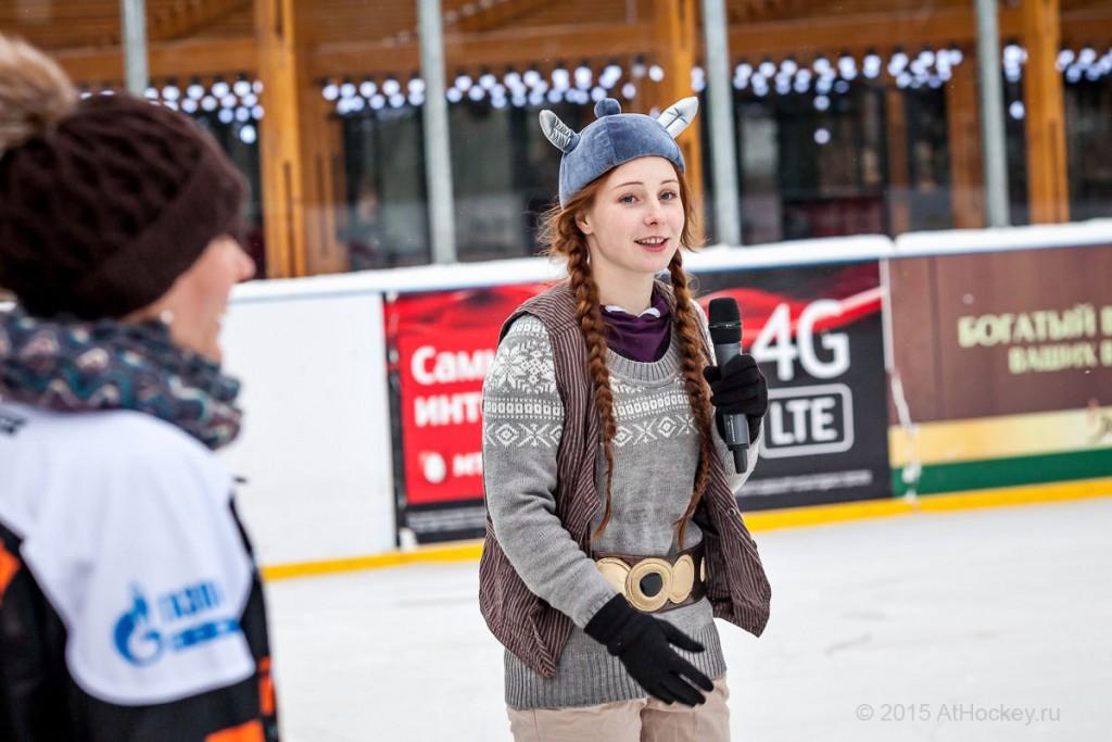 Корпоратив на льду (Москва 2015). Центр ледовой подготовки AtHockey.ru