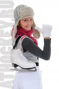 Ледовый фитнес для девушек. AtHockey, Москва.