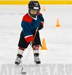 Обучение детей катанию на коньках, ATHOCKEY