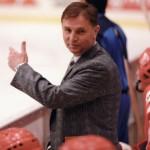 Виктор Тихонов, тренер по хоккею