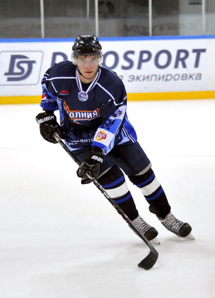Тренер по хоккею Остап Кривченко