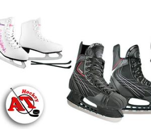 Особенности хоккейных коньков и их отличие от фигурных