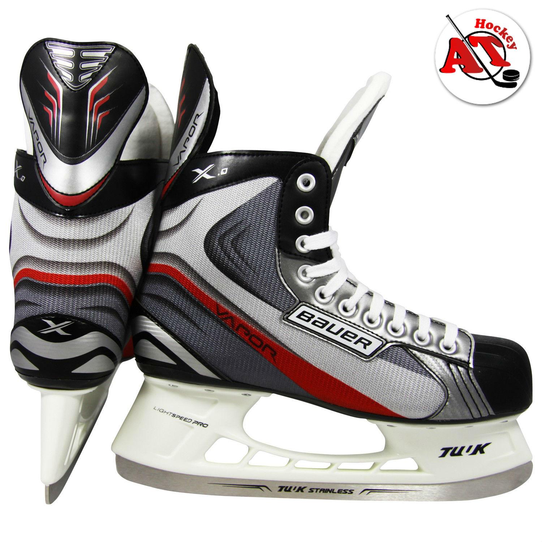 Как шнуровать хоккейные коньки?