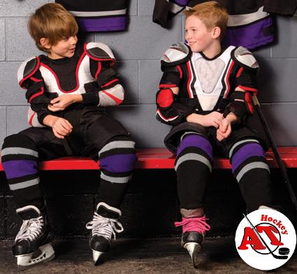 Как правильно одевать хоккейную форму?