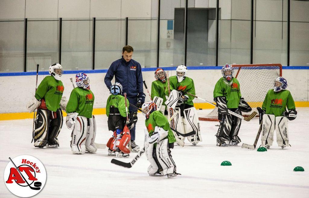 Занятия для вратарей в Athockey