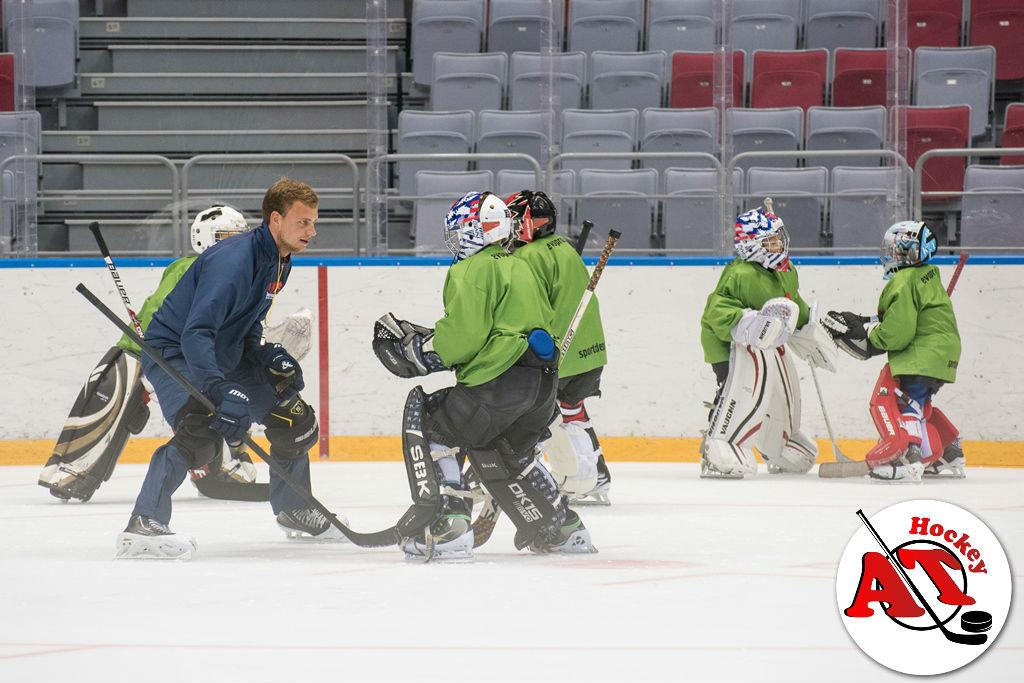 Тренировки вратарей по хоккею
