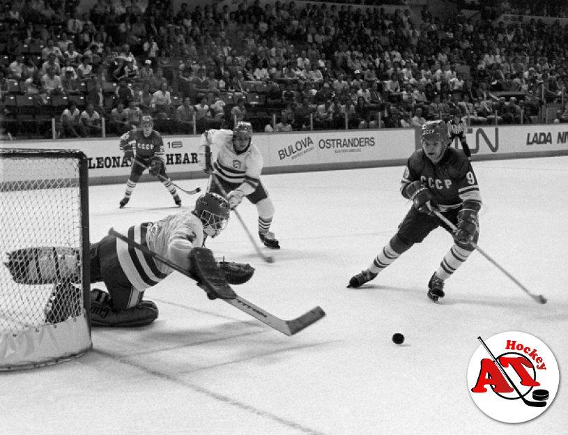 Первый хоккейный матч